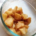"""Baked"" Cinnamon Apples 