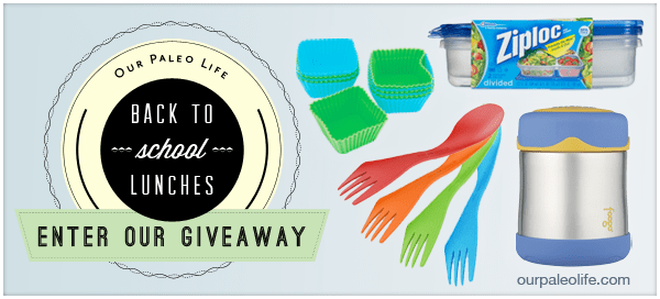 Back To School Lunch Giveaway | Our Paleo Life #paleo #kidslunch #giveaway