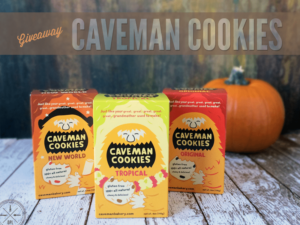 Caveman Cookies Giveaway by Our Paleo Life