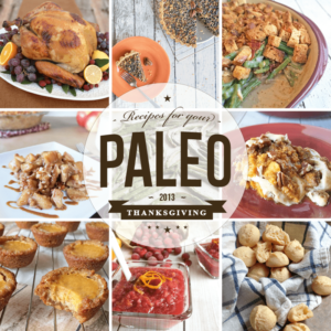 Paleo Thanksgiving Recipe Roundup | Our Paleo Life