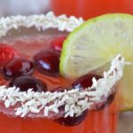 Cranberry Lime Spritzer | Our Paleo Life