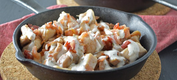 Chicken Bacon Ranch Skillet | Our Paleo Life
