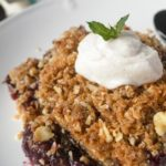 Cherry Almond Crisp by Merit + Fork