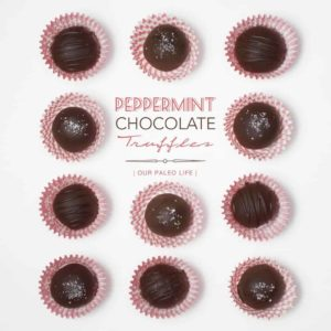 Peppermint Chocolate Truffles {dairy-free, nut-free} by Our Paleo Life