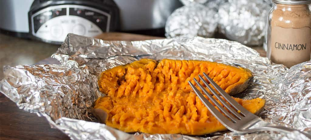 Slowcooker Sweet Potatoes {by Our Paleo Life}
