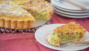 Paleo Bacon Broccoli Quiche