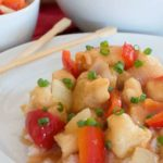Paleo Sweet & Sour Chicken {grain-free; refined-sugar-free}