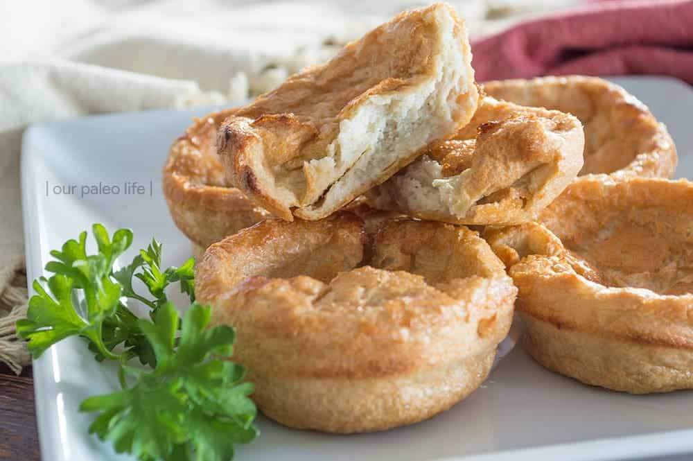 Paleo Yorkshire Puddings {grain-free; dairy-free} by Our Paleo Life