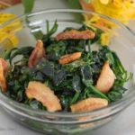 Bacon Sauteed Spinach {paleo; whole30} by Our Paleo Life