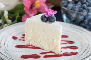 Instant Pot Low-Carb Cheesecake {keto; primal} by Our Paleo Life
