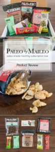 Paleo by Maileo subscription boxes are a great way to try a variety a paleo-friendly foods, delivered right to your door every month.