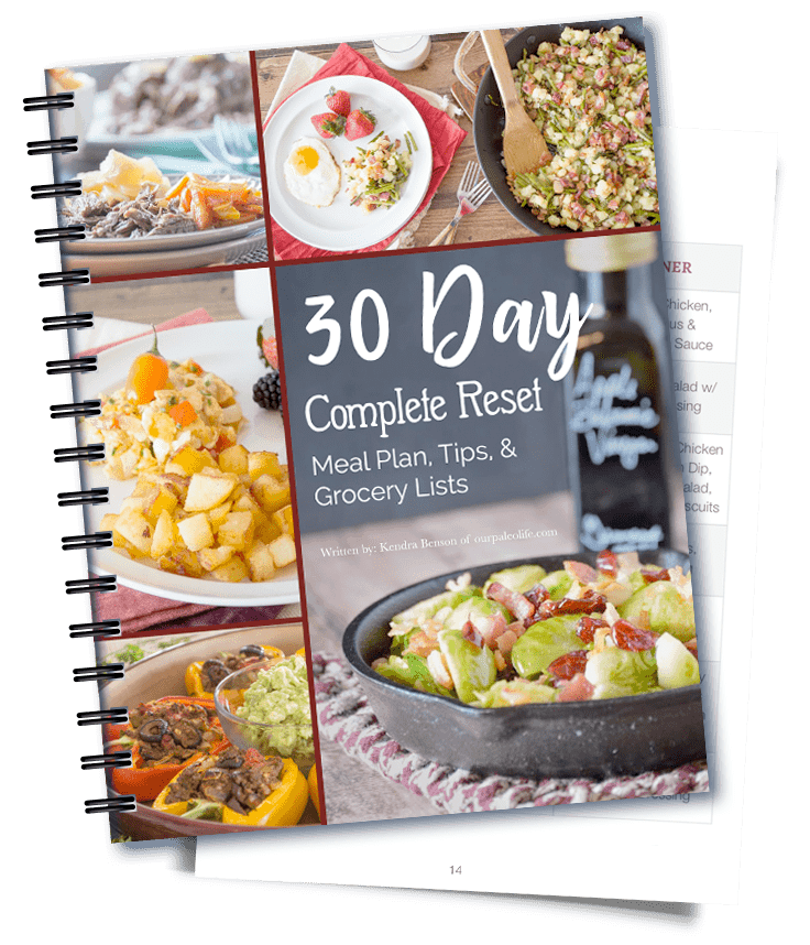 30 Day Complete Reset Meal Plan
