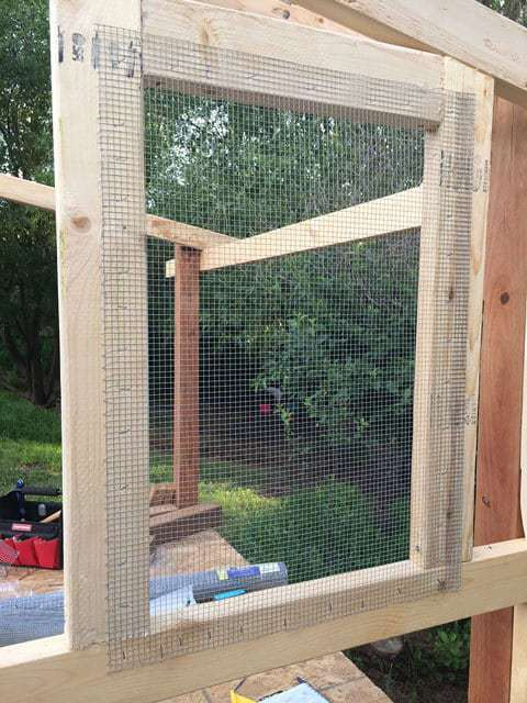 Mesh Wire for Window Protection Chicken Coop