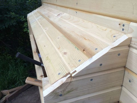 Nesting Box with Tongue and Groove Siding Build