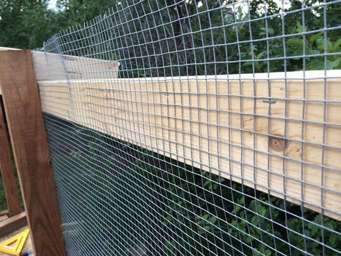 Wire Mesh for Chicken Run