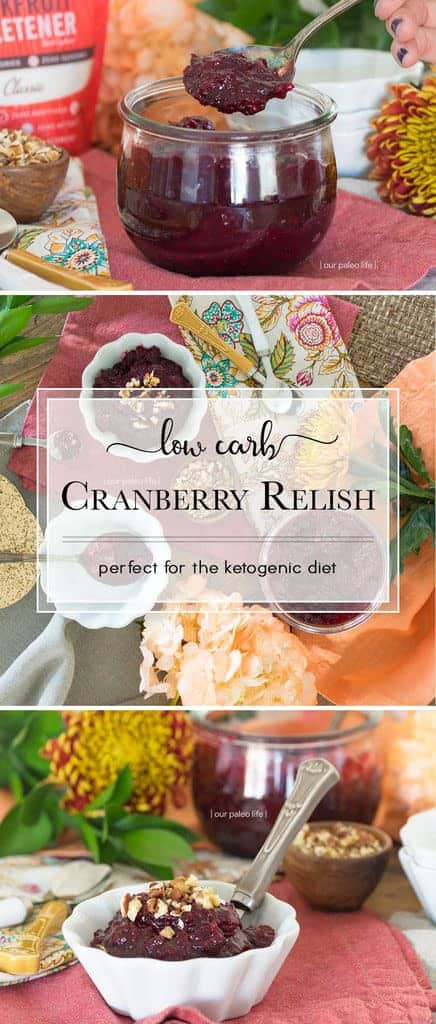 Low-Carb Cranberry Relish