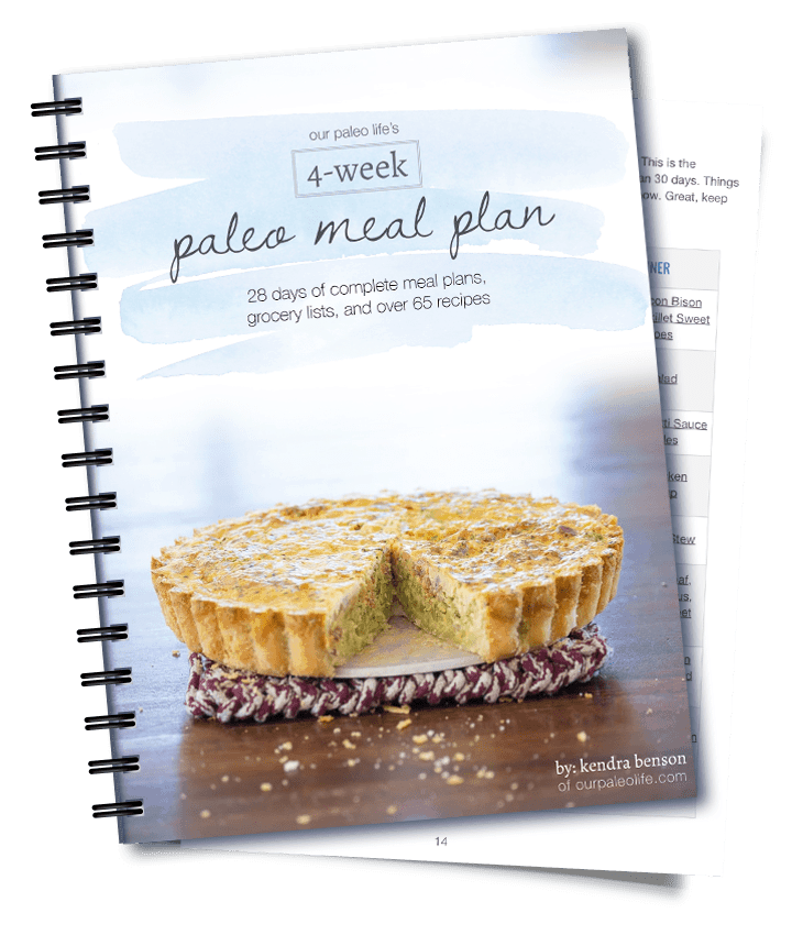 Paleo 4-week Meal Plan for 2018