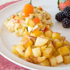 Country Potatoes & Fiesta Eggs
