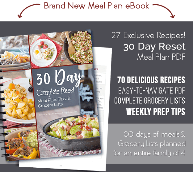 Whole30 meal plan grocery list 4 individualized weeks forumfinder Gallery