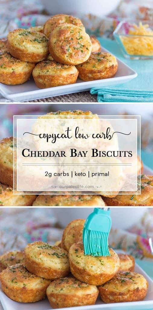 Low-Carb Cheddar Garlic Biscuits {copycat Red Lobster} Keto Biscuits
