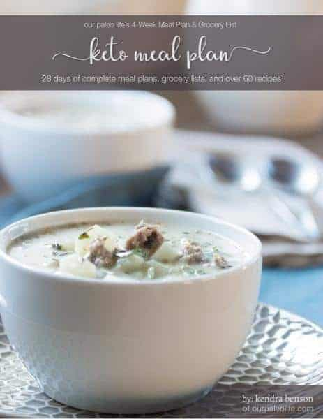 keto meal plan grocery list recipes full plan shopping lists