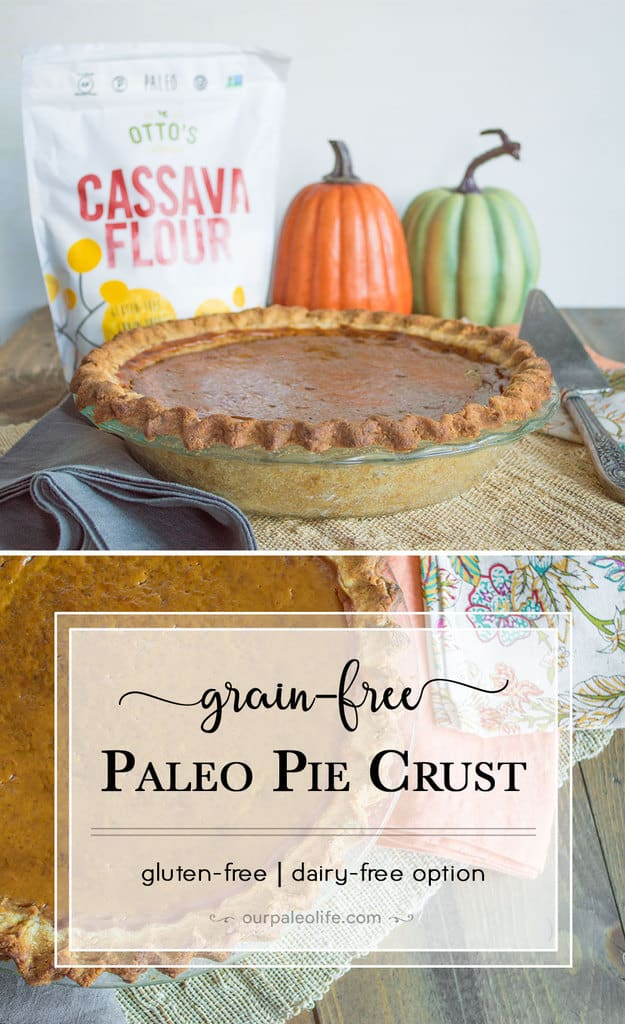 This delicious, grain-free pie crust is perfect for any holiday get-together and is perfectly paleo. Get the recipe here.